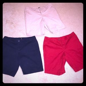 3 pairs of shorts - 18W